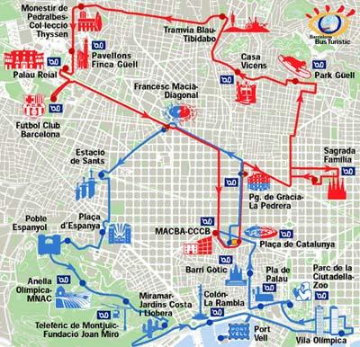 Barcelona Sehenswürdigkeiten Karte.Spanienreisen Urlaubsreisen Nach Spanien Und Portugal